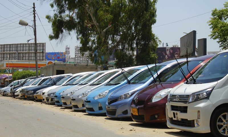 Imported cars in Pakistan